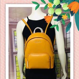 Michael Kors Erin Medium Marigold Backpack